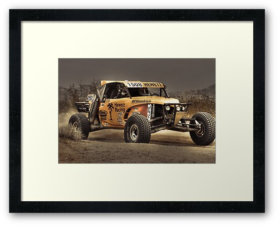Yellow Buggy at Dusk by Randy Turnbow