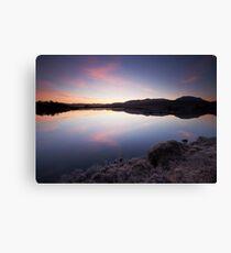 Loch Ba Sunrise Canvas Print