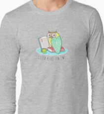 Reading Owl Long Sleeve T-Shirt