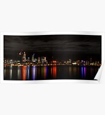 Perth's Skyline Poster