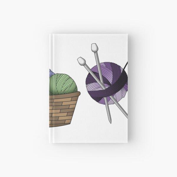 Knitting Hardcover Journal