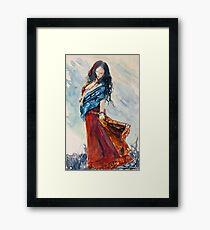 Gypsy Wind Framed Print