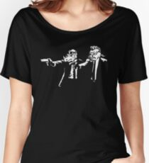 Bebop Rocksteady - Thug life - Pfiction mashup Women's Relaxed Fit T-Shirt