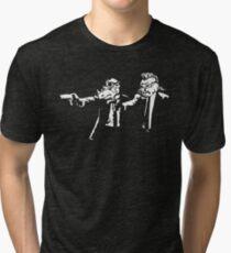 Bebop Rocksteady - Thug life - Pfiction mashup Tri-blend T-Shirt