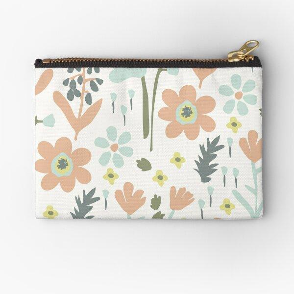 Flower Garden Zipper Pouch