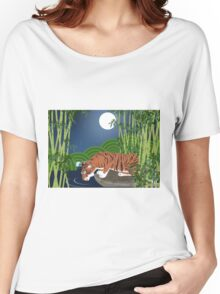 Fire in the Night Women's Relaxed Fit T-Shirt