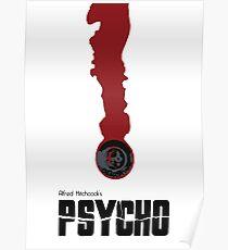 psycho minimailst Poster