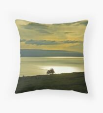 Morecambe Bay Throw Pillow