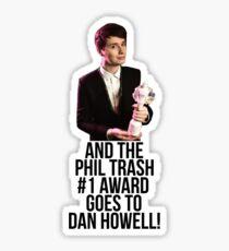 Phil Trash #1 Award Sticker