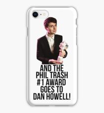 Phil Trash #1 Award iPhone Case/Skin