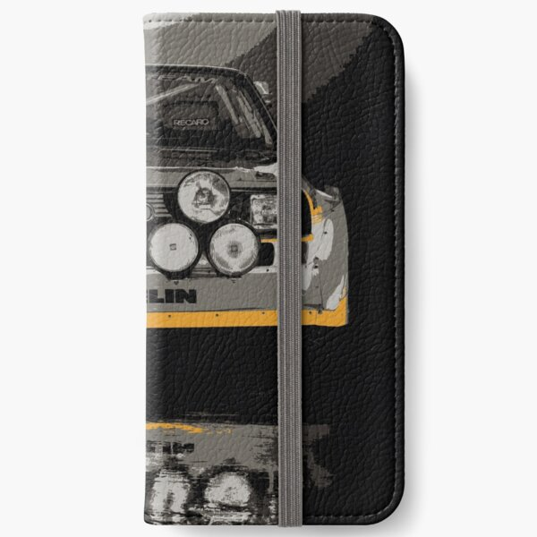 Audi Quattro S1 - Group B Rally Race Car iPhone Wallet