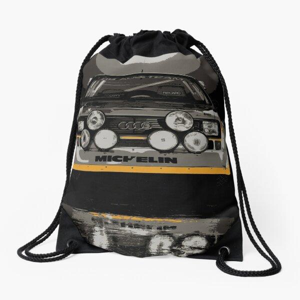 Audi Quattro S1 - Group B Rally Race Car Drawstring Bag
