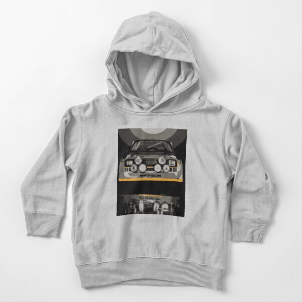 Audi Quattro S1 - Group B Rally Race Car Toddler Pullover Hoodie