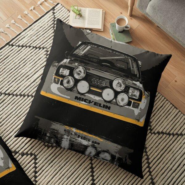 Audi Quattro S1 - Group B Rally Race Car Floor Pillow