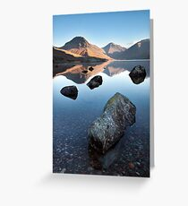 Wasdale Head From Wastwater Greeting Card