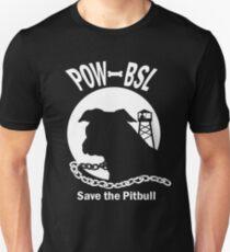 POW BSL Save the Pitbull Unisex T-Shirt