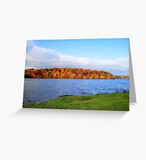 Lake Decatur, Decatur IL Greeting Card