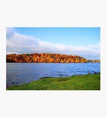 Lake Decatur, Decatur IL Photographic Print