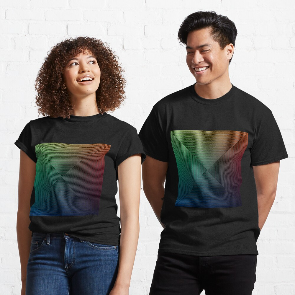 How do optical illusions work? Classic T-Shirt