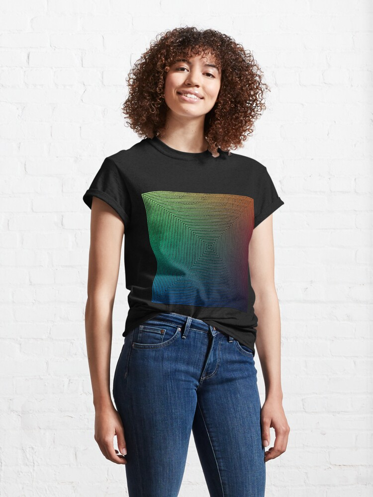 Alternate view of How do optical illusions work? Classic T-Shirt