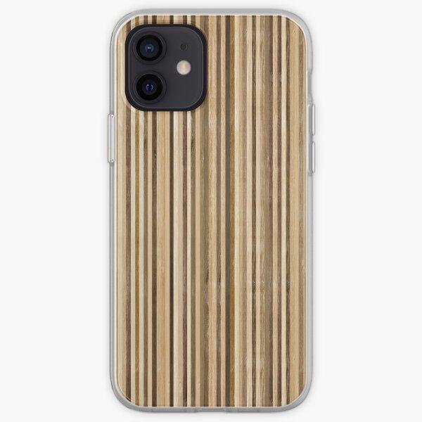 Monopatín reciclado textura natural Funda blanda para iPhone