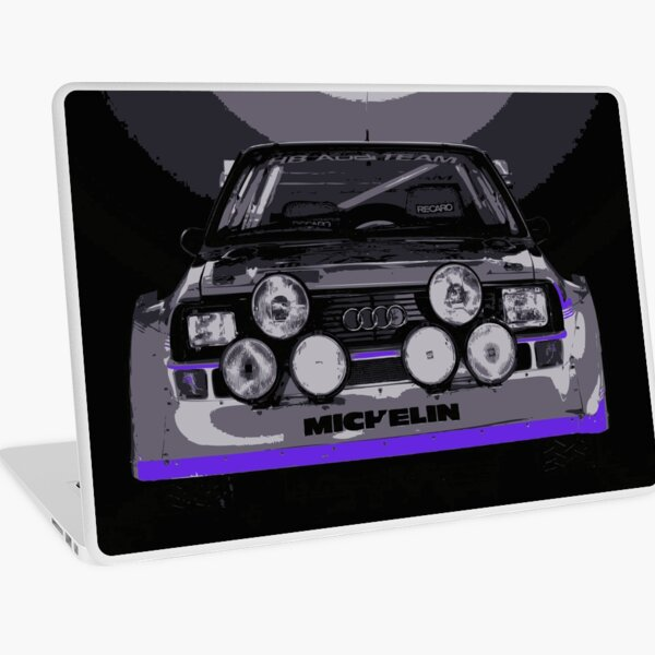 Audi Quattro S1 - Group B Rally Race Car Laptop Skin
