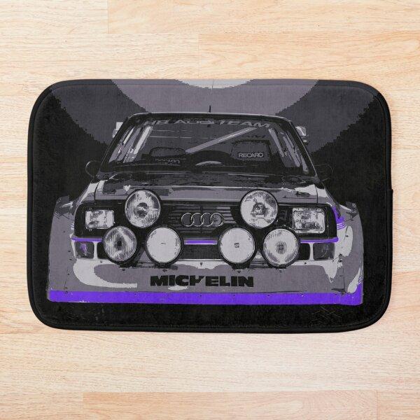 Audi Quattro S1 - Group B Rally Race Car Bath Mat