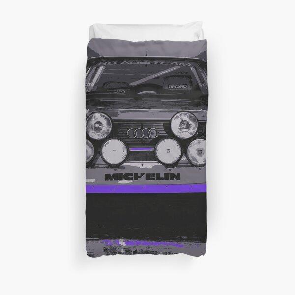Audi Quattro S1 - Group B Rally Race Car Duvet Cover