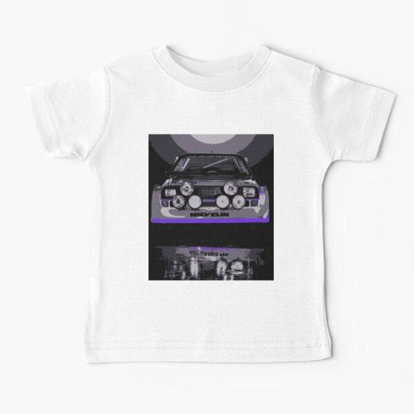 Audi Quattro S1 - Group B Rally Race Car Baby T-Shirt