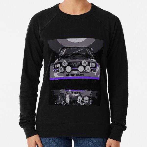 Audi Quattro S1 - Group B Rally Race Car Lightweight Sweatshirt