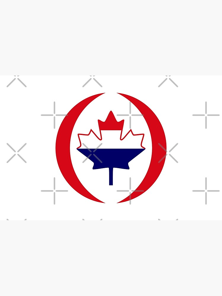 Dutch Canadian Multinational Patriot Flag Series by carbonfibreme