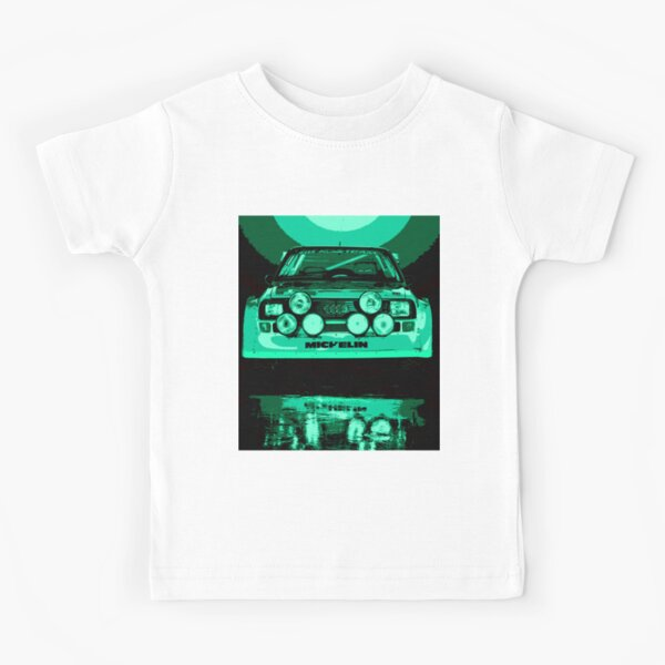 Audi Quattro S1 - Group B Rally Race Car Kids T-Shirt