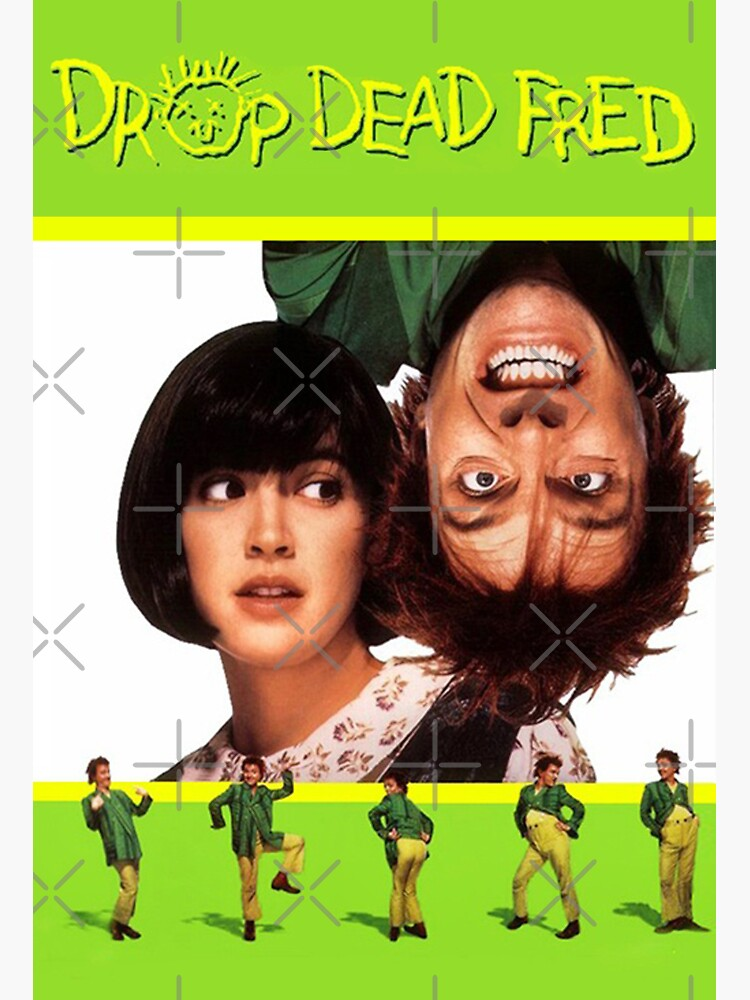 Drop Dead Fred Movie Poster by S-NettiThings