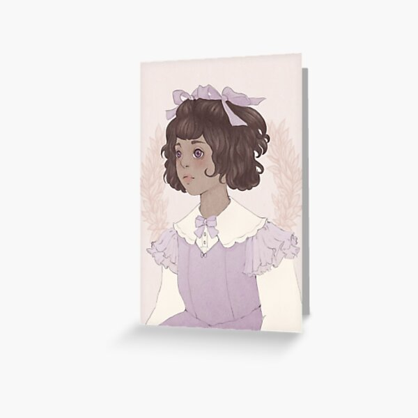 Lolita Doll Grußkarte