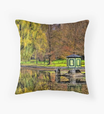 Wind and stillness  Throw Pillow