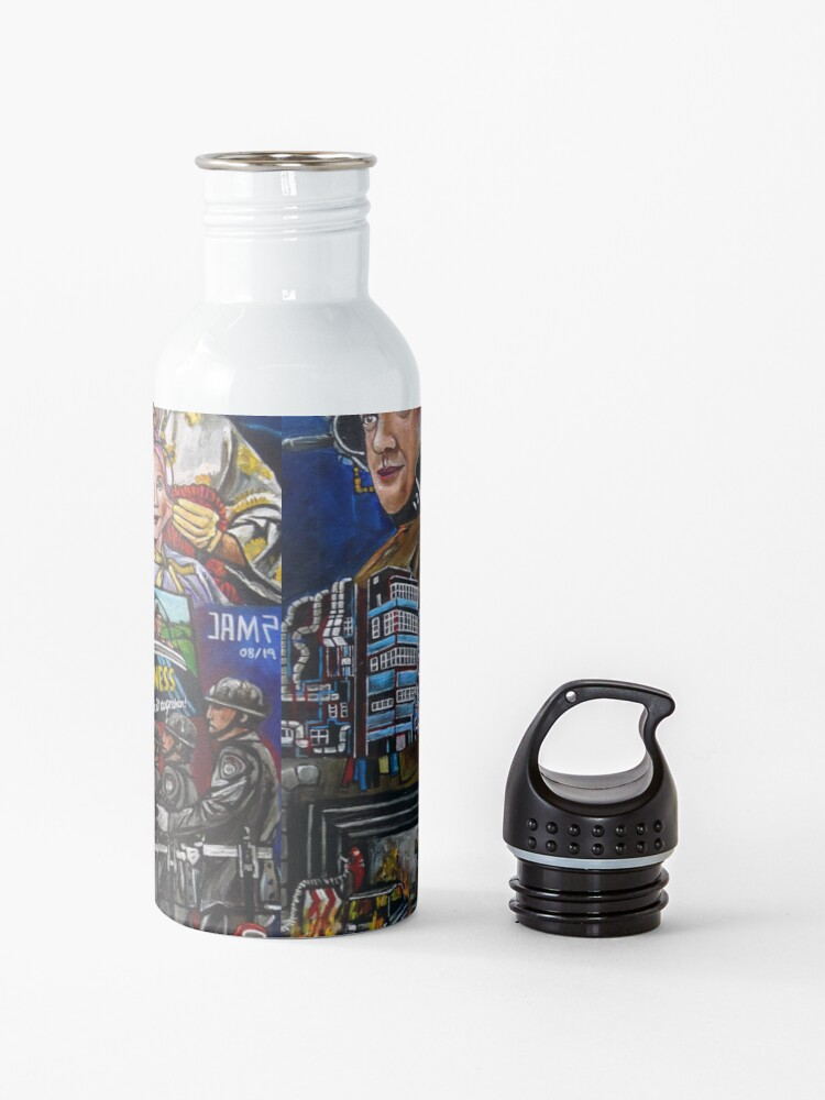 Vista alternativa de Botella de agua Brazil