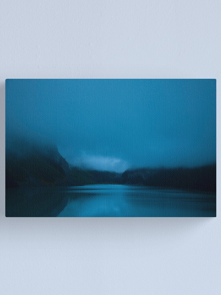 Alternate view of Early Morning Lake Louise Canvas Print