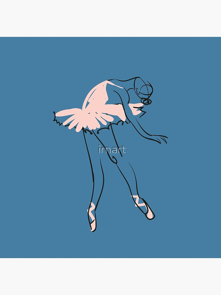 ballet dancer by irnart