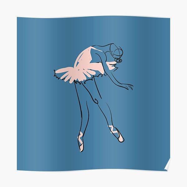 Balletttänzer Poster