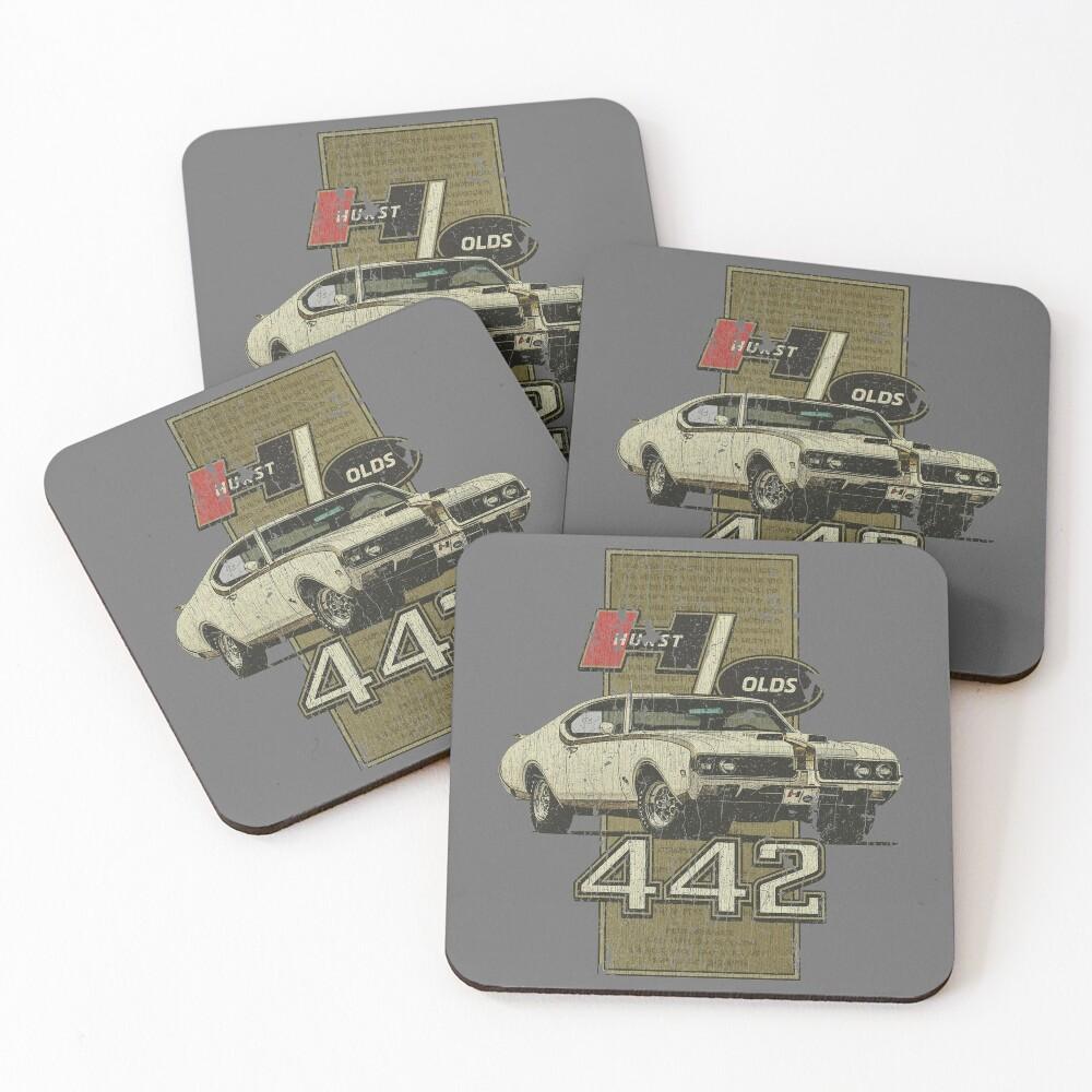 1969 Hurst-Olds 442 Coasters (Set of 4)