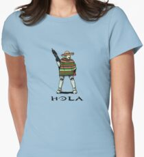 Hola Womens Fitted T-Shirt