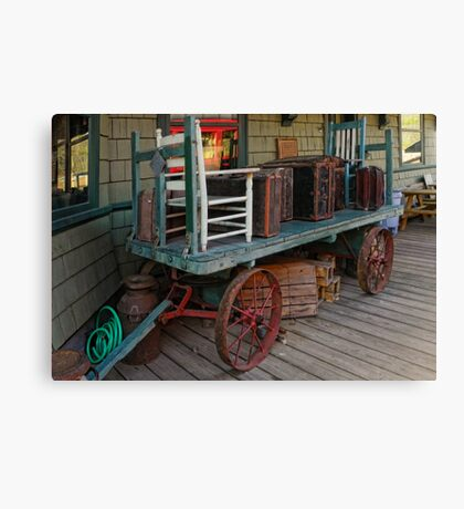 Rustic Travel Canvas Print