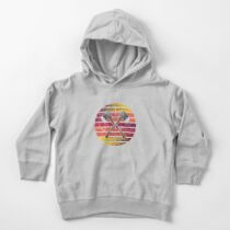 Retro Axe Throwing Ax Thrower Toddler Pullover Hoodie