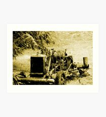 Cultivated Decay Art Print