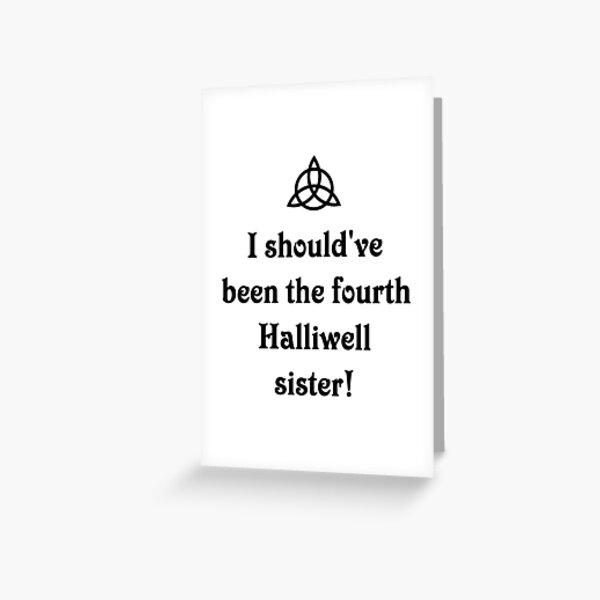 Hechiceras hermanas Halliwell. El poder de tres Tarjetas de felicitación