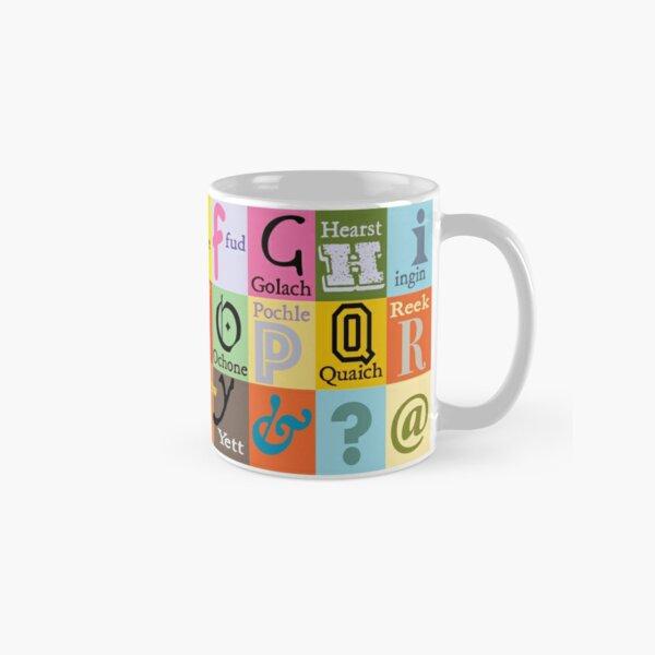 Scottish Words Alphabet Classic Mug