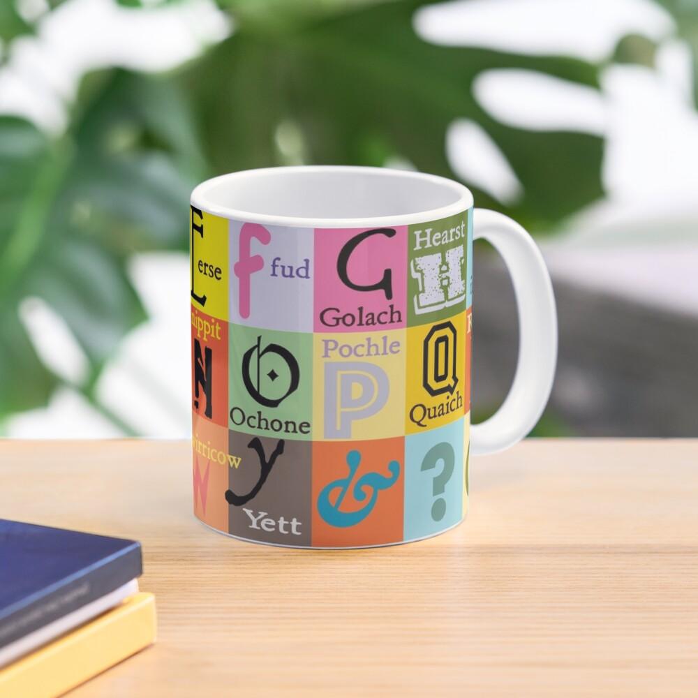 Scottish Words Alphabet Mug