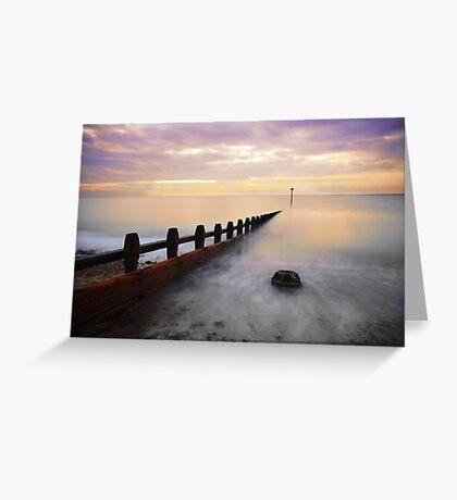 Rustington Seafront Greeting Card