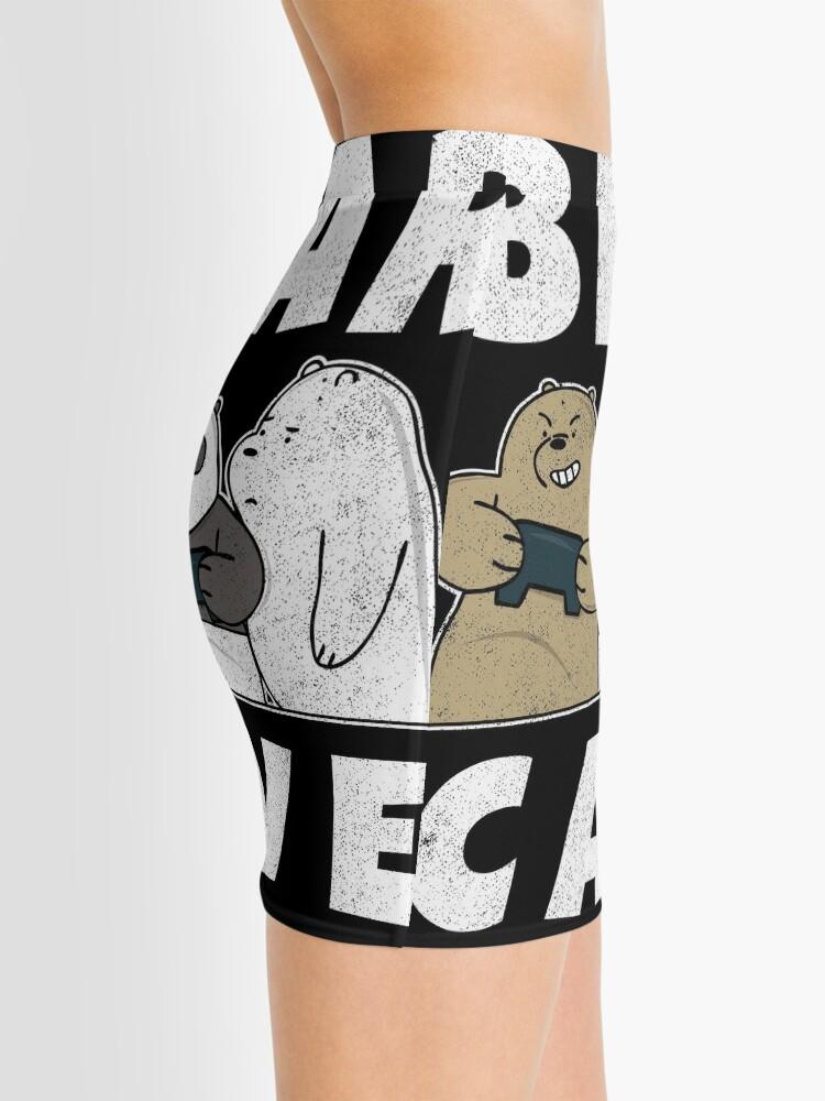 Alternate view of Bear Cave Ice Bears Mini Skirt