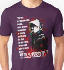 Kaneki Ken's Tragedy Quote T-Shirt